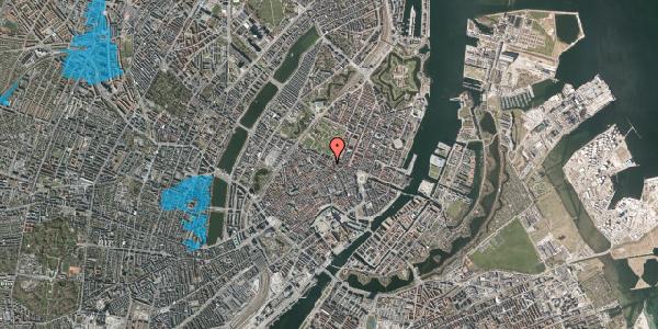 Oversvømmelsesrisiko fra vandløb på Møntergade 19, 2. th, 1116 København K