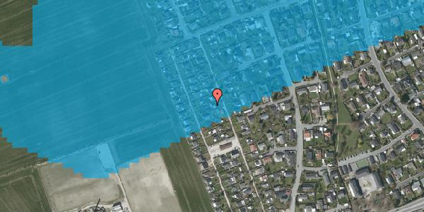 Oversvømmelsesrisiko fra vandløb på Hf. Dahlia 37, 2650 Hvidovre
