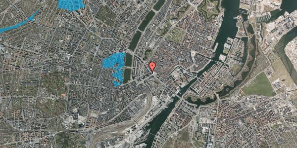 Oversvømmelsesrisiko fra vandløb på Jernbanegade 1, 1608 København V