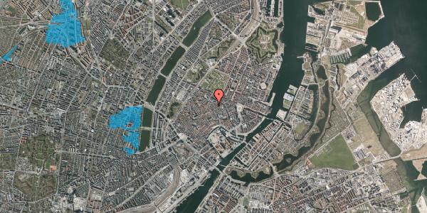 Oversvømmelsesrisiko fra vandløb på Klareboderne 3A, 1115 København K