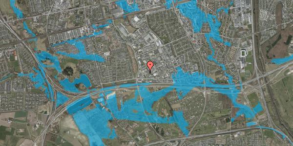 Oversvømmelsesrisiko fra vandløb på Jydekrogen 4, 1. , 2625 Vallensbæk