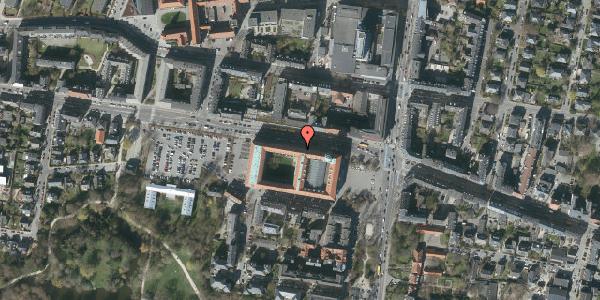 Oversvømmelsesrisiko fra vandløb på Smallegade 3, 2000 Frederiksberg