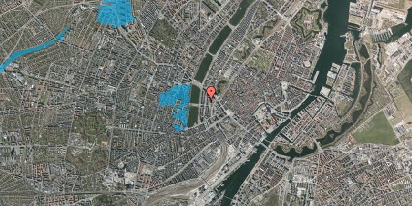 Oversvømmelsesrisiko fra vandløb på Nyropsgade 25, 4. , 1602 København V