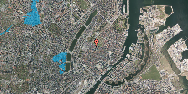 Oversvømmelsesrisiko fra vandløb på Hauser Plads 28A, 4. , 1127 København K
