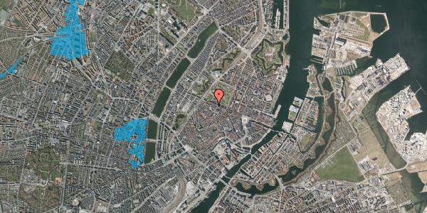 Oversvømmelsesrisiko fra vandløb på Åbenrå 16, 1. tv, 1124 København K