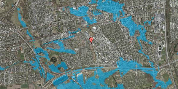 Oversvømmelsesrisiko fra vandløb på Hyrdeengen 51C, 2625 Vallensbæk