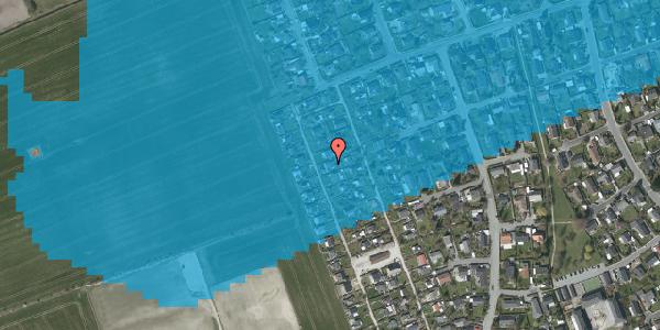Oversvømmelsesrisiko fra vandløb på Hf. Dahlia 65, 2650 Hvidovre