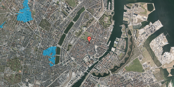 Oversvømmelsesrisiko fra vandløb på Vognmagergade 2, 1120 København K