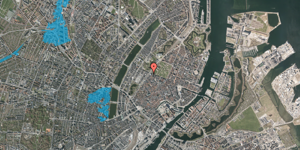 Oversvømmelsesrisiko fra vandløb på Tornebuskegade 4, 1131 København K