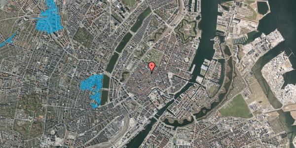 Oversvømmelsesrisiko fra vandløb på Købmagergade 50A, 1150 København K