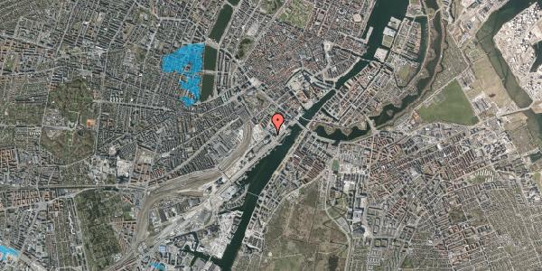 Oversvømmelsesrisiko fra vandløb på Bernstorffsgade 33, 4. , 1577 København V