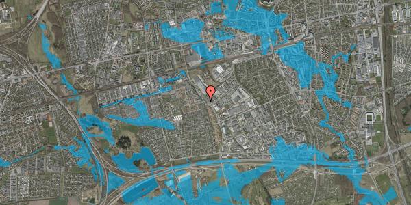 Oversvømmelsesrisiko fra vandløb på Blomsterengen 10, 2625 Vallensbæk