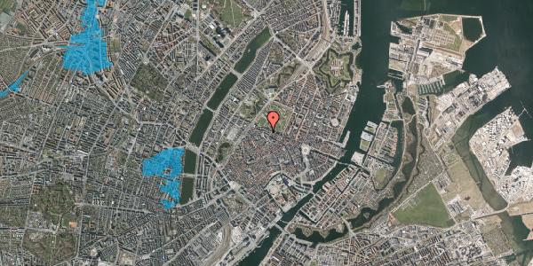 Oversvømmelsesrisiko fra vandløb på Åbenrå 16, 2. th, 1124 København K