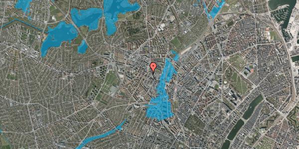 Oversvømmelsesrisiko fra vandløb på Brofogedvej 8, 2400 København NV