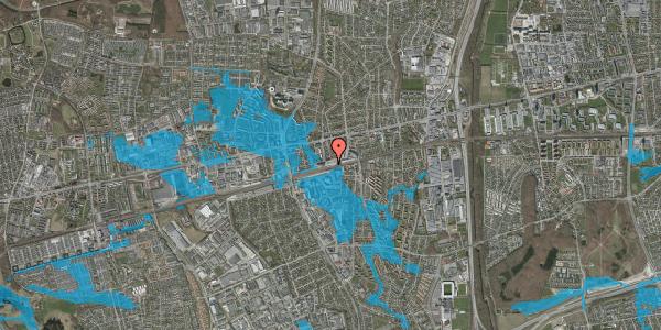 Oversvømmelsesrisiko fra vandløb på Banegårdspladsen 11, 2600 Glostrup