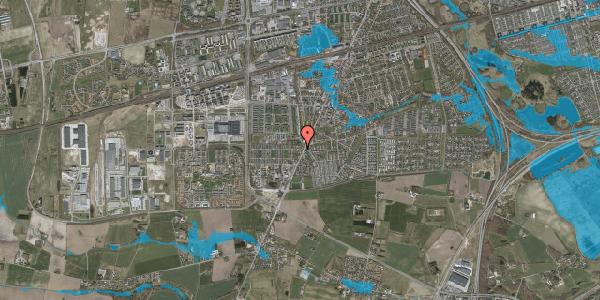 Oversvømmelsesrisiko fra vandløb på Taastrup Hovedgade 156G, st. , 2630 Taastrup