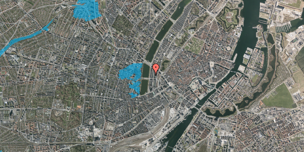Oversvømmelsesrisiko fra vandløb på Nyropsgade 24, 2. , 1602 København V