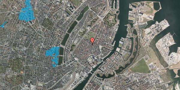 Oversvømmelsesrisiko fra vandløb på Pilestræde 56, 3. , 1112 København K