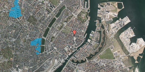 Oversvømmelsesrisiko fra vandløb på Gothersgade 12, 1. tv, 1123 København K