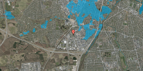 Oversvømmelsesrisiko fra vandløb på Ejbyholm 56, 2600 Glostrup