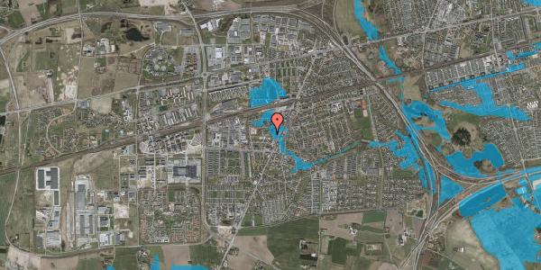 Oversvømmelsesrisiko fra vandløb på Gasværksvej 3A, 2630 Taastrup