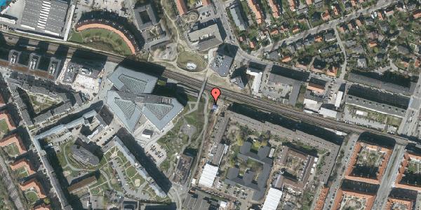 Oversvømmelsesrisiko fra vandløb på Dirch Passers Allé 6, 2000 Frederiksberg