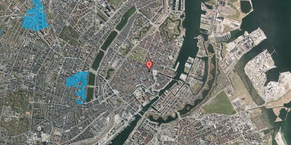 Oversvømmelsesrisiko fra vandløb på Kristen Bernikows Gade 8, 1105 København K