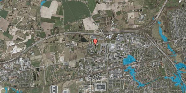 Oversvømmelsesrisiko fra vandløb på Gregersensvej 2M, 2630 Taastrup