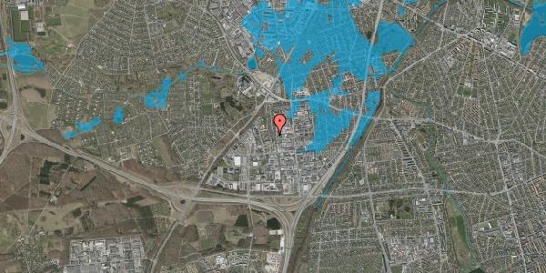 Oversvømmelsesrisiko fra vandløb på Ydergrænsen 42, 2600 Glostrup