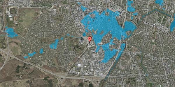Oversvømmelsesrisiko fra vandløb på Ejby Mosevej 210, 2600 Glostrup