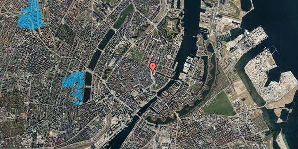 Oversvømmelsesrisiko fra vandløb på Østergade 3, 2. , 1100 København K