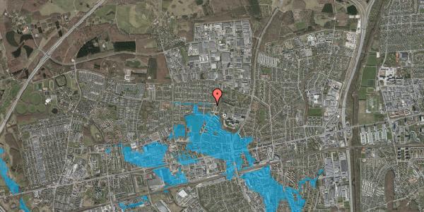 Oversvømmelsesrisiko fra vandløb på Haveforeningen Hersted 19, 2600 Glostrup