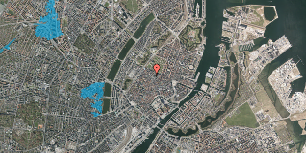 Oversvømmelsesrisiko fra vandløb på Landemærket 10, 1119 København K