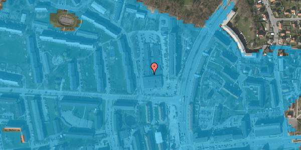 Oversvømmelsesrisiko fra vandløb på Diget 62, 2600 Glostrup