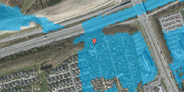 Oversvømmelsesrisiko fra vandløb på Hf. Kettehøj 27, 2650 Hvidovre