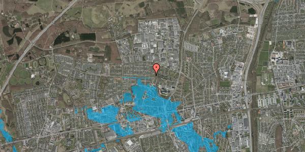 Oversvømmelsesrisiko fra vandløb på Haveforeningen Hersted 43, 2600 Glostrup