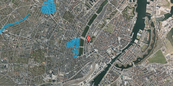 Oversvømmelsesrisiko fra vandløb på Nyropsgade 7, 6. , 1602 København V