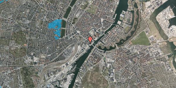 Oversvømmelsesrisiko fra vandløb på Puggaardsgade 18, 4. tv, 1573 København V