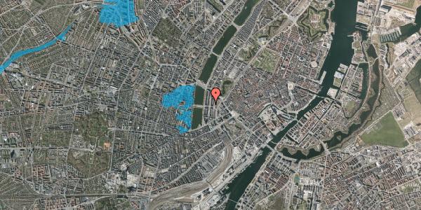 Oversvømmelsesrisiko fra vandløb på Nyropsgade 27, 5. , 1602 København V