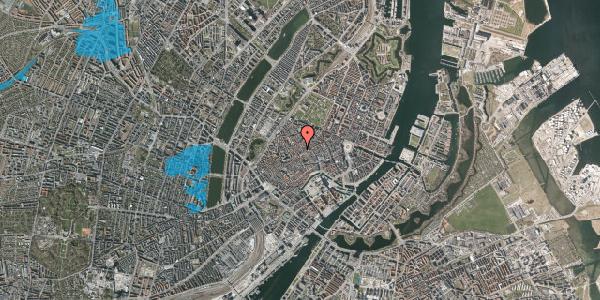 Oversvømmelsesrisiko fra vandløb på Niels Hemmingsens Gade 36, 1153 København K