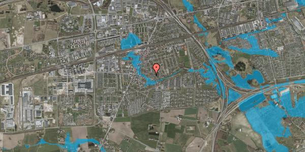 Oversvømmelsesrisiko fra vandløb på Valbyvej 47E, st. 9, 2630 Taastrup