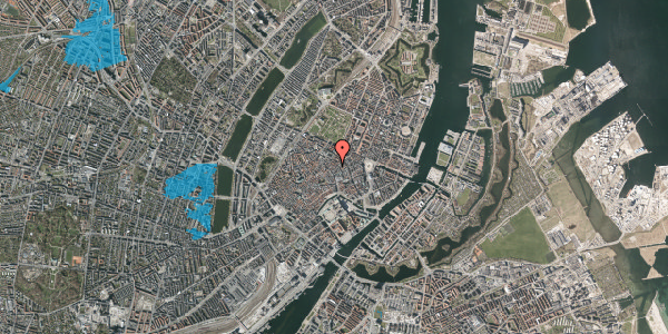 Oversvømmelsesrisiko fra vandløb på Kronprinsensgade 8, 5. 1, 1114 København K