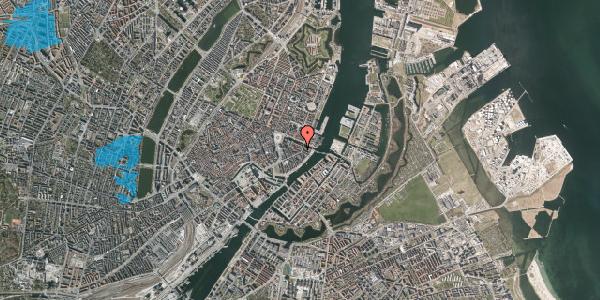 Oversvømmelsesrisiko fra vandløb på Herluf Trolles Gade 11, 1052 København K
