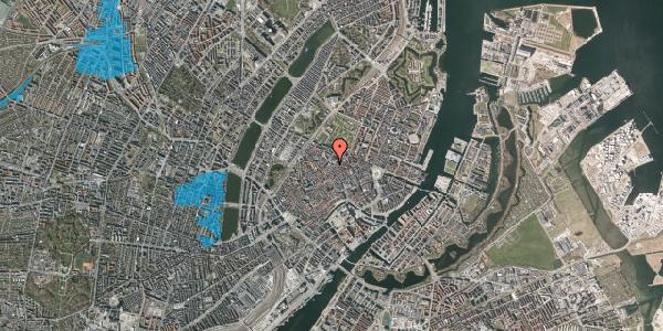 Oversvømmelsesrisiko fra vandløb på Købmagergade 50D, 1150 København K