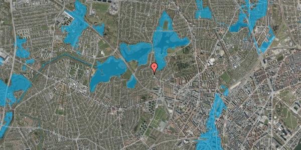 Oversvømmelsesrisiko fra vandløb på Enemærket 4A, 2400 København NV
