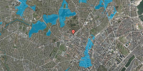 Oversvømmelsesrisiko fra vandløb på Dortheavej 32, 1. 3, 2400 København NV