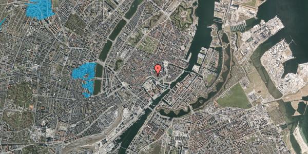 Oversvømmelsesrisiko fra vandløb på Ved Stranden 18A, 1061 København K