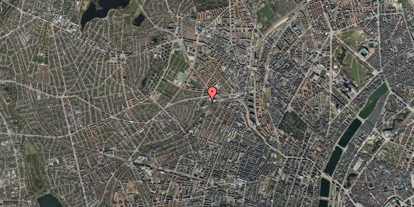 Oversvømmelsesrisiko fra vandløb på Rabarbervej 20, 1. 111, 2400 København NV