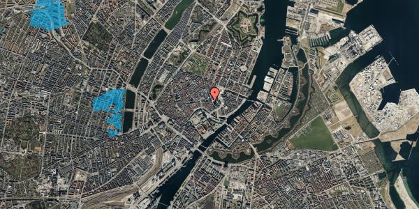 Oversvømmelsesrisiko fra vandløb på Nikolajgade 18, 1. 3, 1068 København K