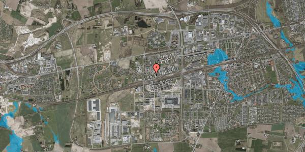 Oversvømmelsesrisiko fra vandløb på Haslevgade 16, 1. th, 2630 Taastrup